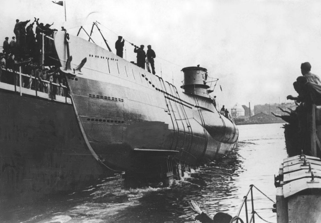 W 1944 roku większość niemieckich okrętów podwodnych buła już przestarzałą i stanowiła łatwy łup dla aliantów (domena publiczna)