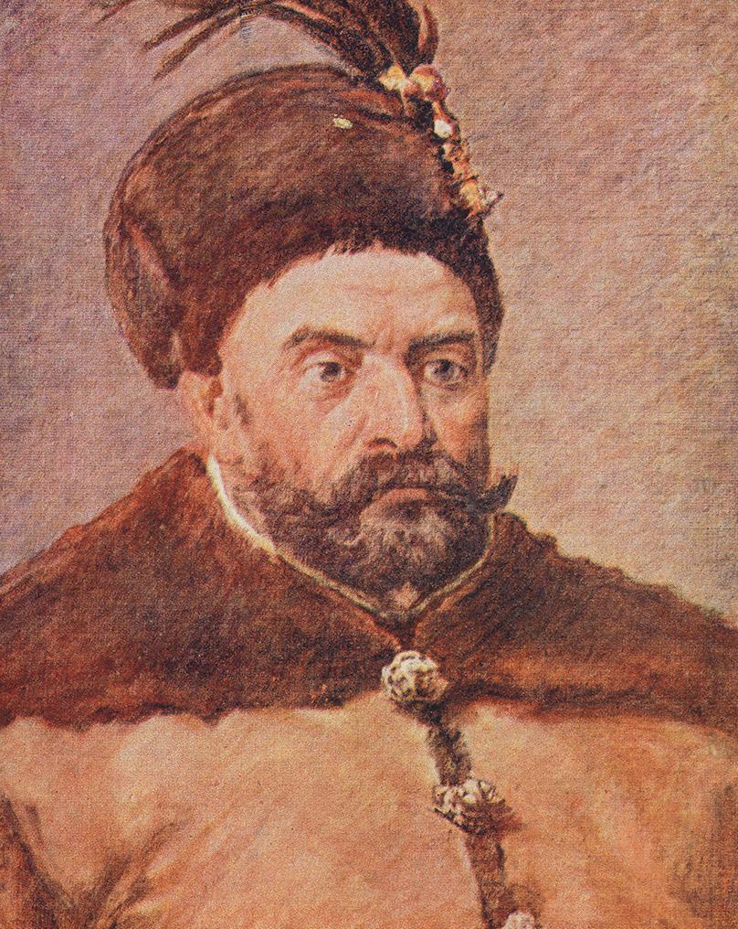 Stefan Batory według Jana Matejki.