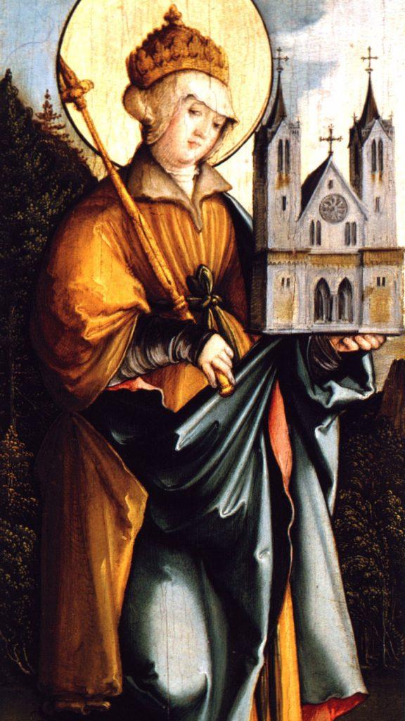 Święta cesarzowa Kunegunda Luksemburska (975 –1040). Jej się udało - bo była żoną imperatora, Henryka II.