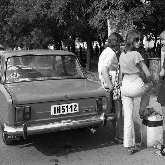 Fiaty 125p były popularne w wielu krajach (FORTEPAN/Urbán Tamás\CC BY-SA 3.0).