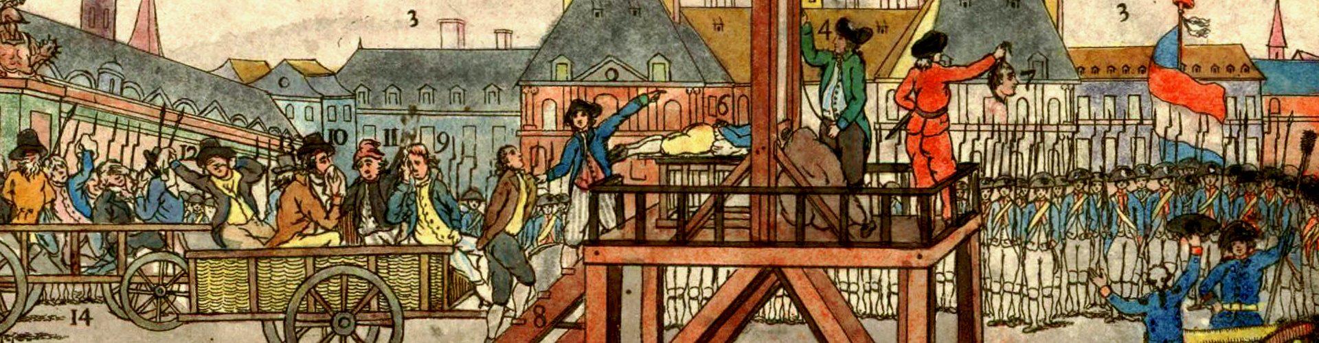 Ścięcie Robespierre'a (domena publiczna)