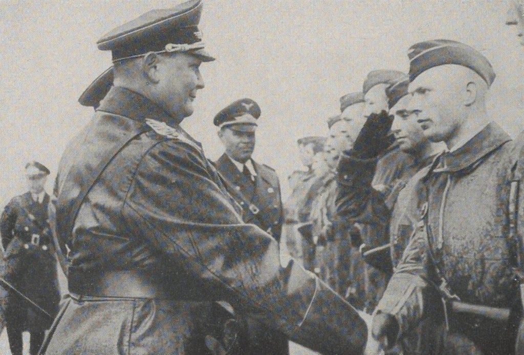 Hermann Göring gratuluje pilotom