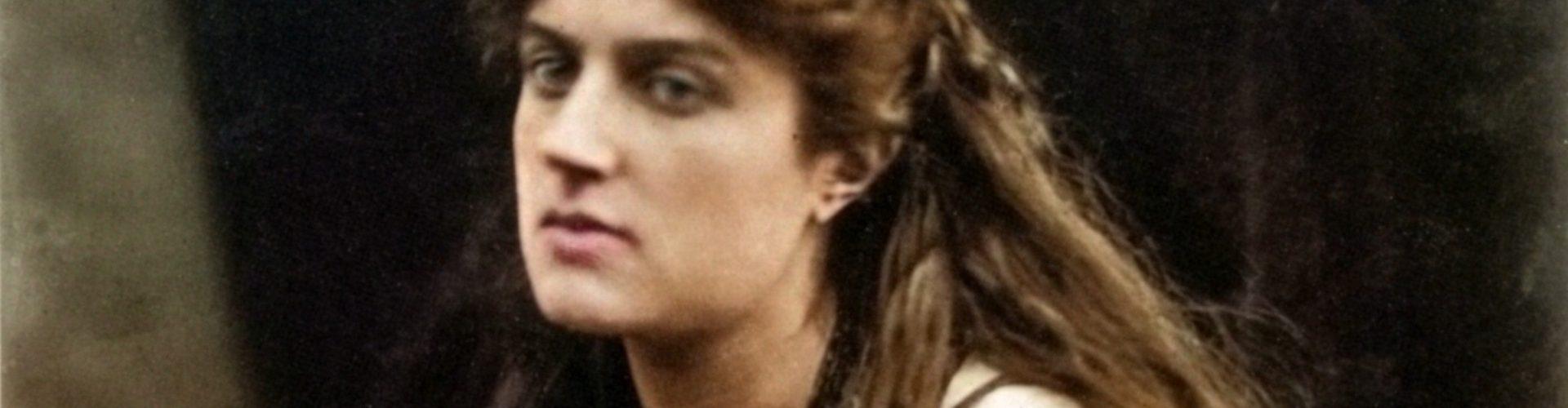 Marie Spartal jako Hypatia (J.M. Cameron/domena publiczna)