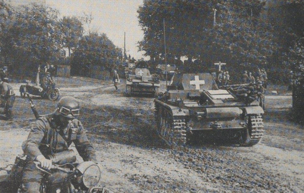 Niemcy we wrześniu 1939 roku mieli miażdżącą przewagę w broni pancernej (domena publiczna).