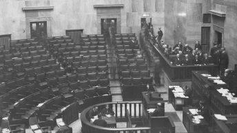 Posiedzenie sejmu 1928