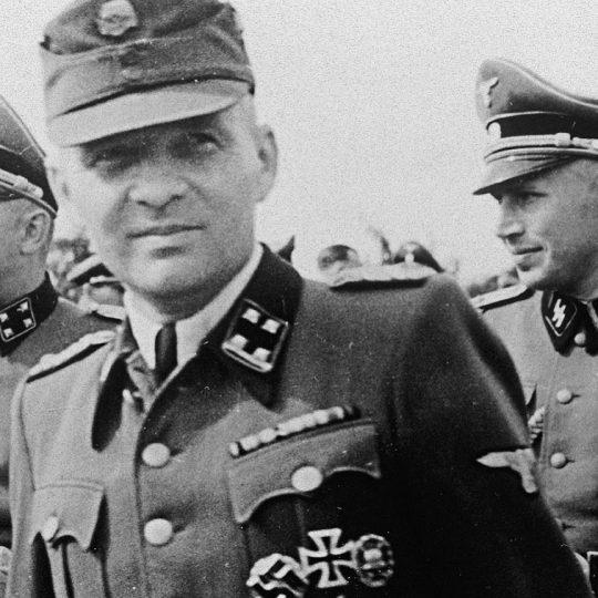 Rudolf Höss w mundurze SS