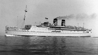 SS Arandora Star na fotografii sprzed II wojny światowej
