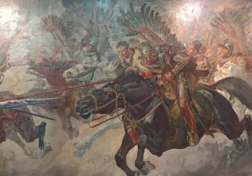 Husarze mogli również liczyć na nagrody za dokonania na polu bitwy (Stanisław Batowski Kaczor/domena publiczna.