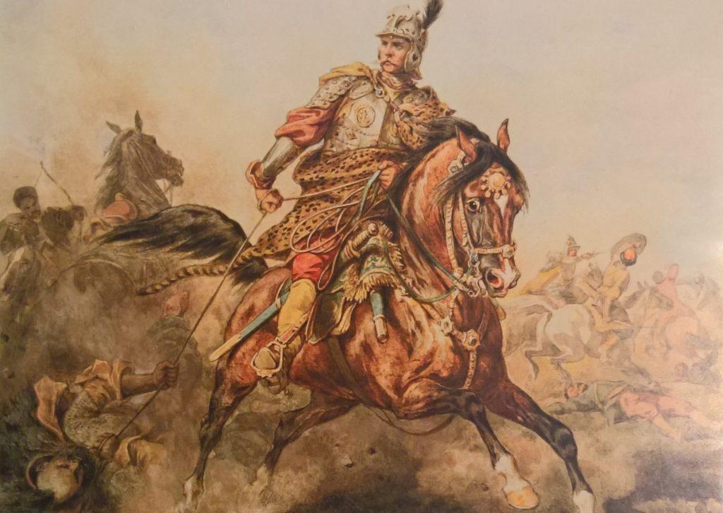 Husarski żołd nie nie zwalał z nóg (Wojciech Kossak/domena publiczna).
