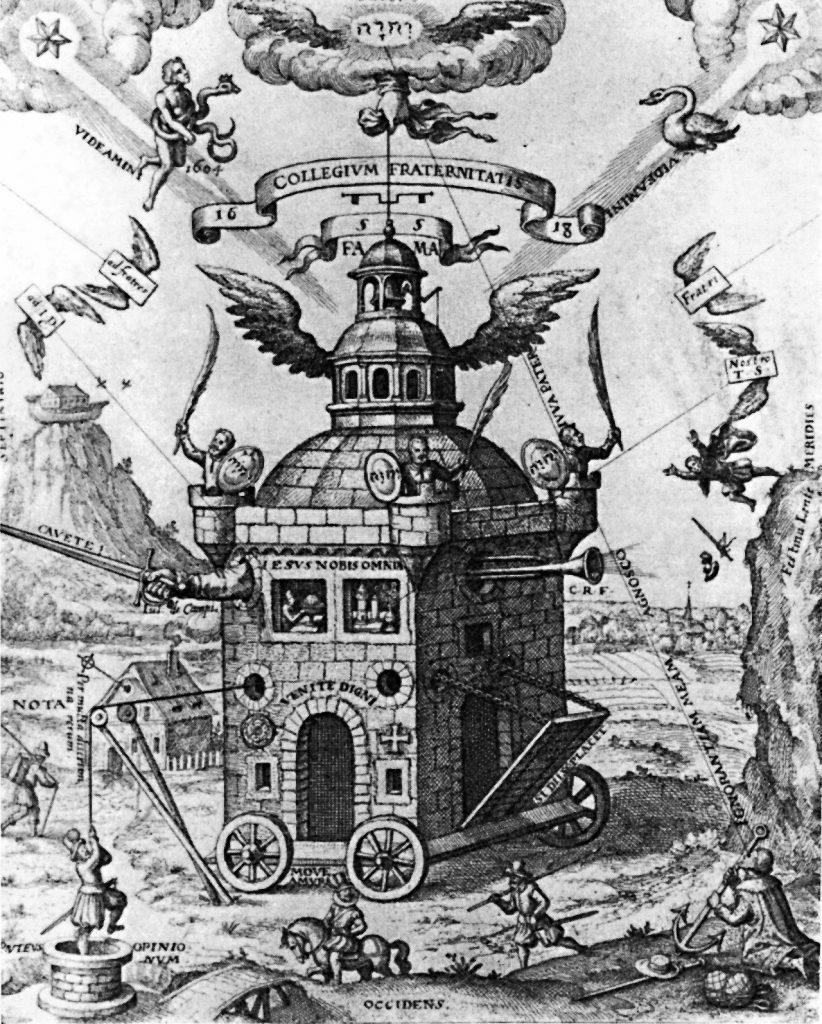 """""""Świątynia Różokrzyża"""" (T. Schweighart/domena publiczna)."""