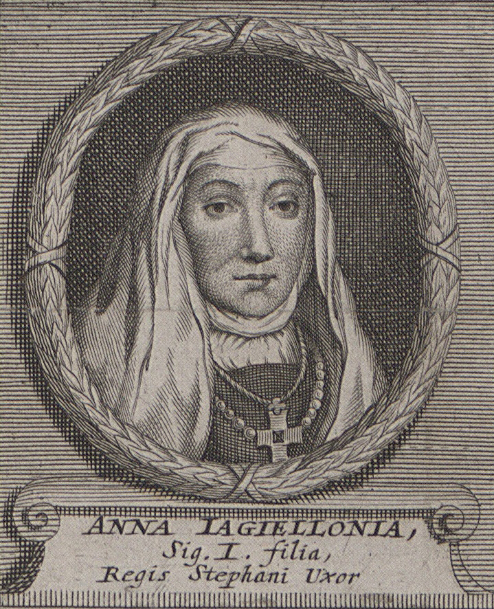 Anna Jagiellonka na portrecie z XVII wieku.