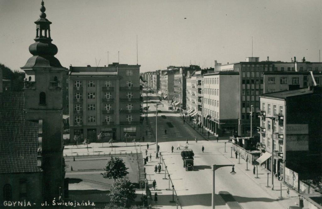 Gdynia była najprężniej rozwijającym się miastem międzywojennej Polski (domena publiczna).