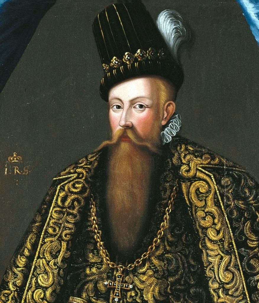 Jan III Waza. Samotny ojciec na portrecie pędzla Johana Baptisty van Uthera.
