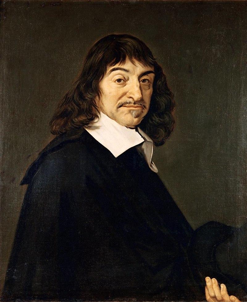 O przynależność do różokrzyżowców podejrzewano również Kartezjusza (Frans Hals/domena publiczna).