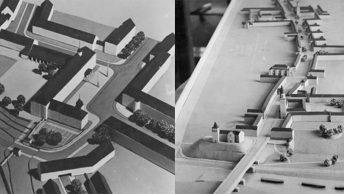 Makiety Auschwitz według projektu Hansa Stosberga