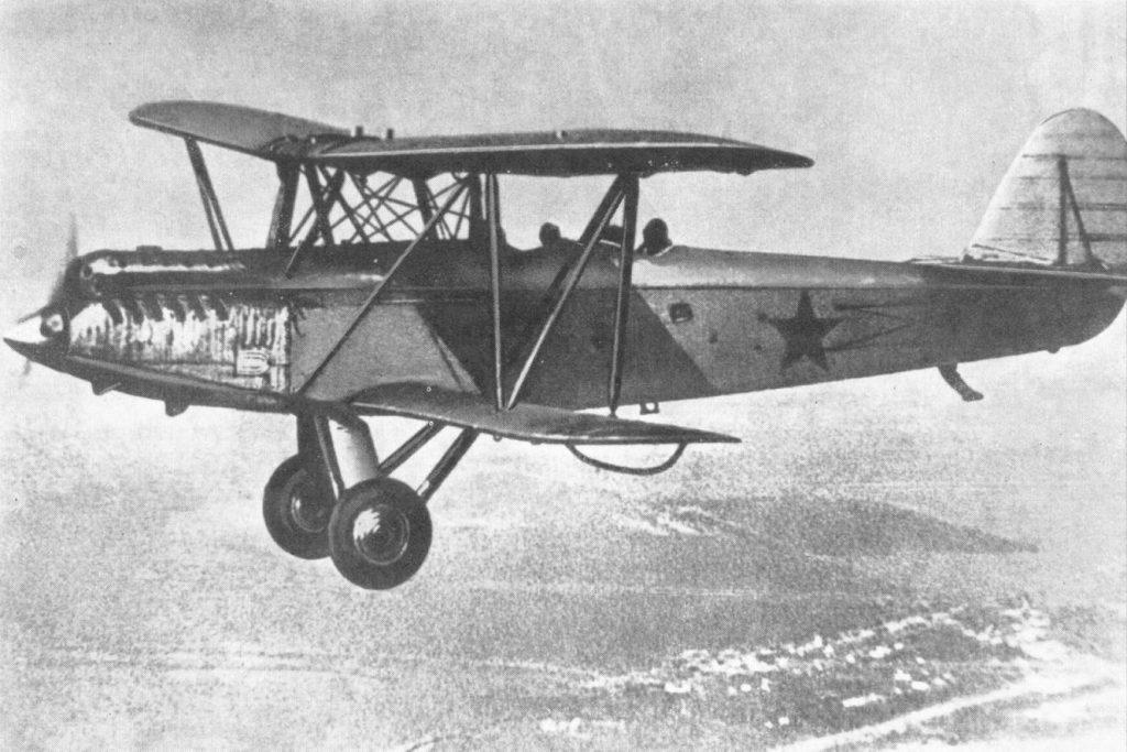 Samolot Polikarpow R-5. Zdjęcie poglądowe (domena publiczna).