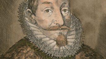 Zygmunt III Waza na portrecie Giacomo Lauro z roku 1637.