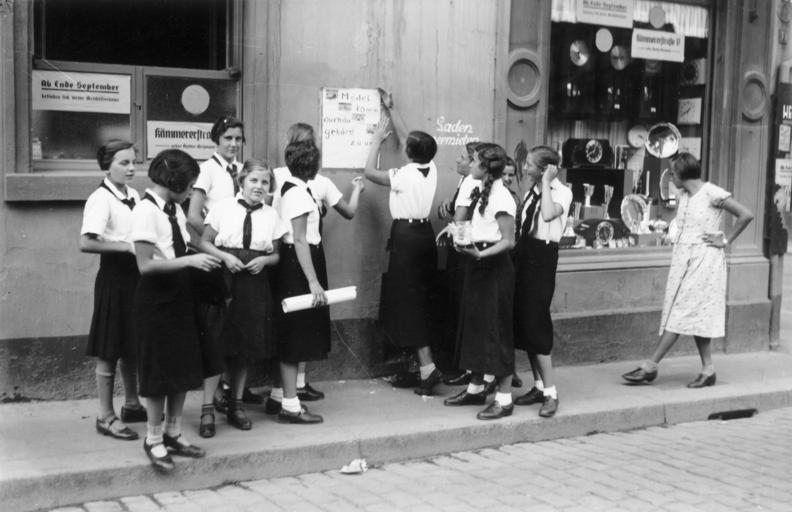 Do Jungmädelbund trafiały dziewczęta w wieku od 10 do 14 lat (Bundesarchiv/CC-BY-SA 3.0).