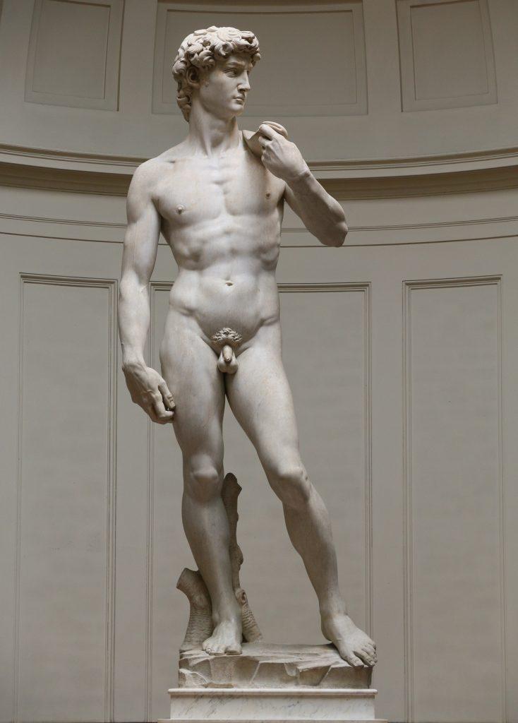 Leonardo sugerował, aby ukryć posąg Dawida pod Loggią i zakryć jego przyrodzenie (Jörg Bittner Unna/CC BY-SA 3.0).