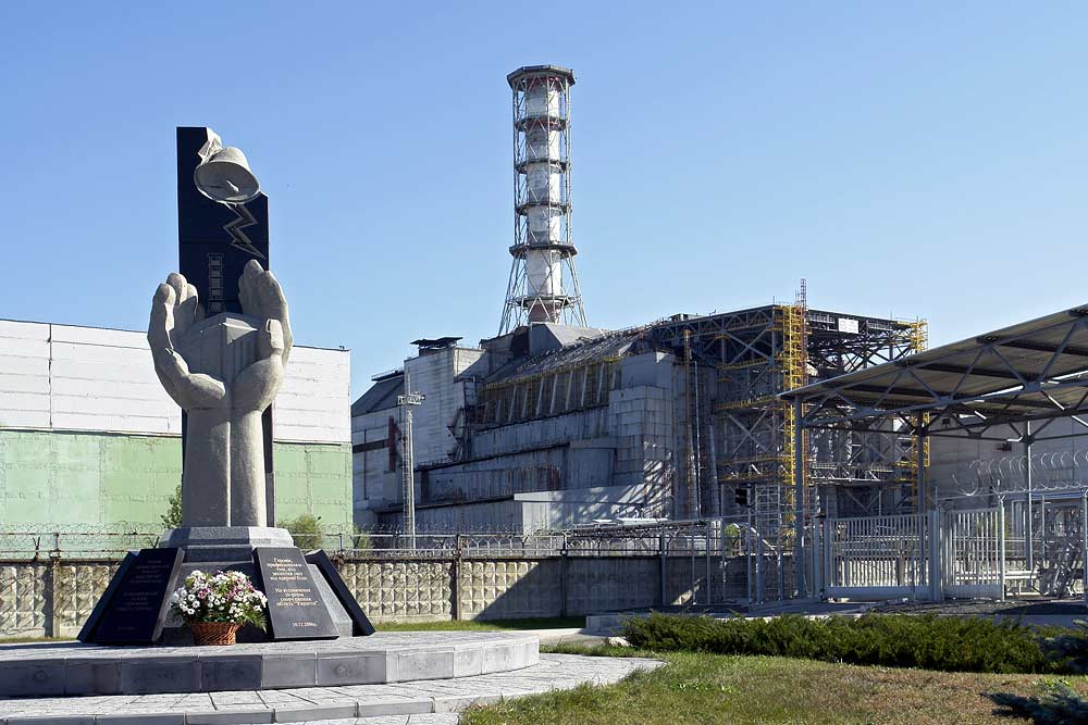 Elektrownia w Czarnobylu na zdjęciu z 2017 roku (Mond/CC BY-SA 3.0).
