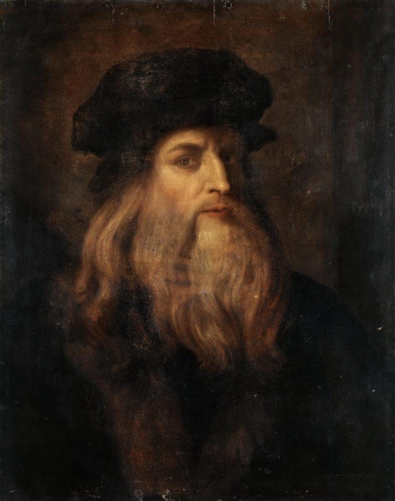 Leonardo da Vinci był prawdziwym mistrzem autoreklamy (domena publiczna).