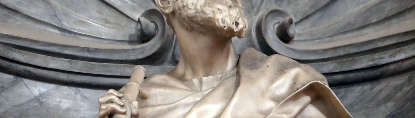 Popiersie Galileusza w bazylice Santa Croce we Florencji, fot. Sailko, CC-BY-SA 3,0.