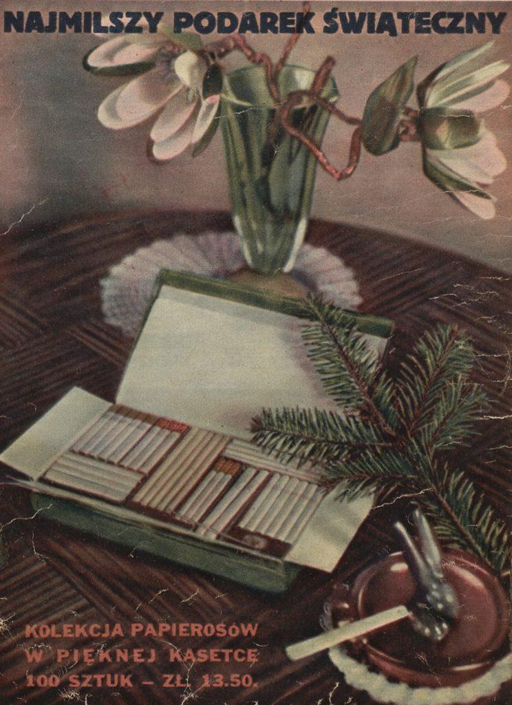Papierosy najlepszym prezentem na święta? Właśnie tak kiedyś uważano.
