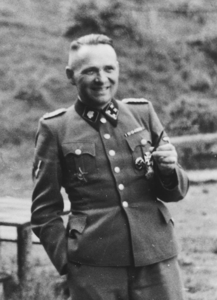Komendant obozu Auschwitz Rudolfa Höss (Karl-Friedrich Höcker/domena publiczna).