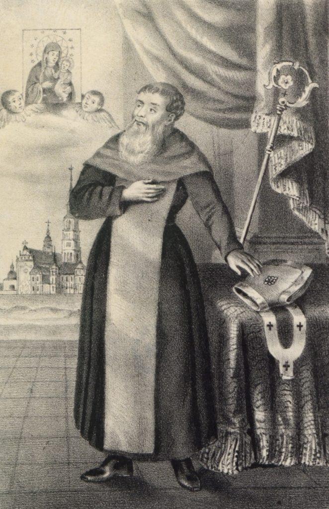 Augustyn Kordecki okazał się mistrzem kreowania własnego wizerunku (Rudolf Fleck/domena publiczna).