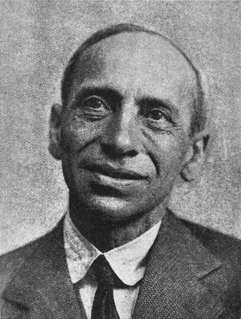 Mordechaj Gebirtig na zdjęciu z 1936 roku.