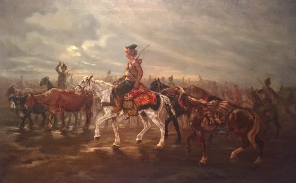 Historycy szacują, że w XVI wieku Tatarzy uprowadzili z terenów Rzeczpospolitej aż 100 000 ludzi (Józef Brand/domena publiczna).
