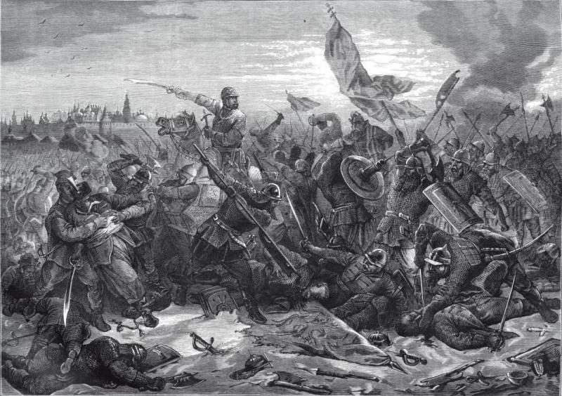 Po tym jak wojska hetmana Chodkiewicza we wrześniu 1612 pobite przez Rosjan polska załoga Kremla była zdana tylko na siebie (L. Kowierzniew/domena publiczna).