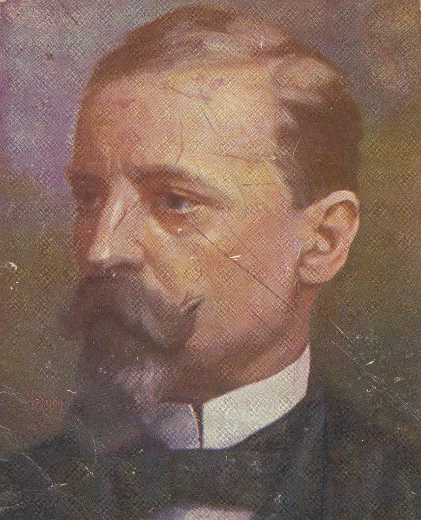 Po porzuceniu przez żonę Henryk Sienkiewicz zamieszkał samotnie w Rzymie (domena publiczna).