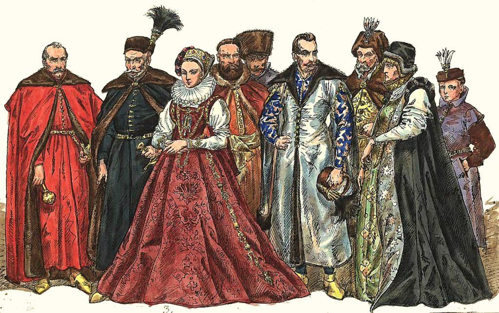 Bogata szlachta i magnateria miała znacznie większe szanse na wygranie spraw sądowych (Jan Matejko/domena publiczna).