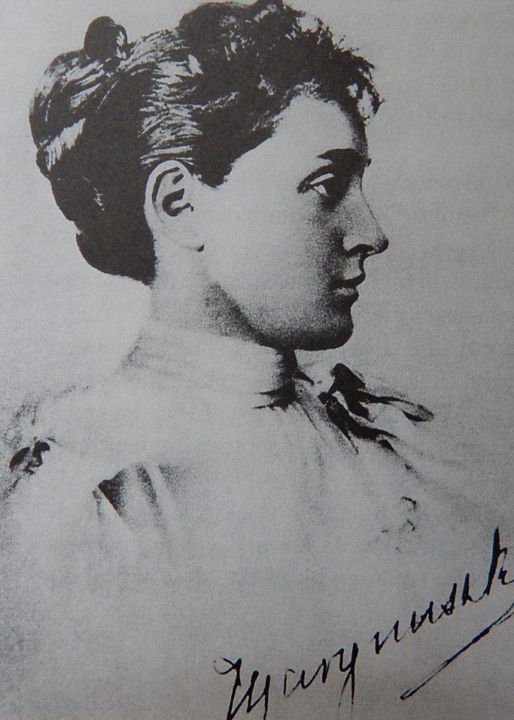 Maria z Romanowskich była o 27 lat młodsza od Sienkiewicza (domena publiczna).