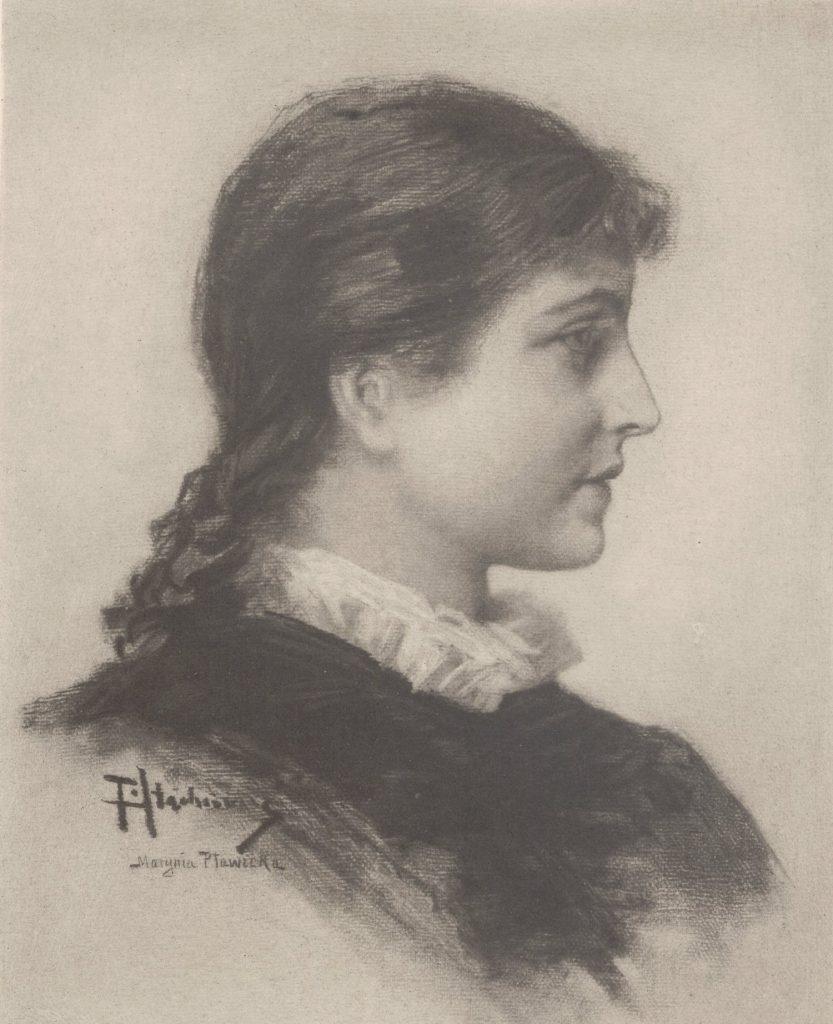 Czytelnicy Rodziny Połanieckich zachodzili w głowę na ile Marynia była inspirowana drugą żoną Sienkiewicza (Piotr Stachiewicz/domena publiczna).