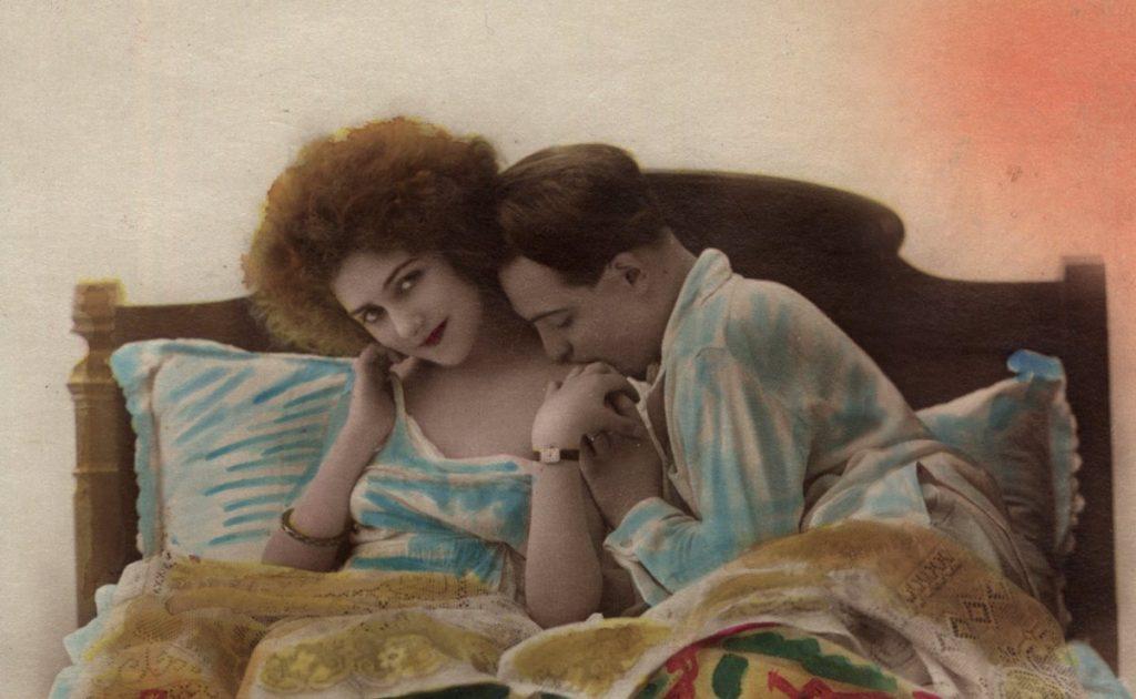 Nawet wydawanej już po I wojnie światowej poradniki ostrzegały przed rozseksualizowanymi żonami (domena publiczna).