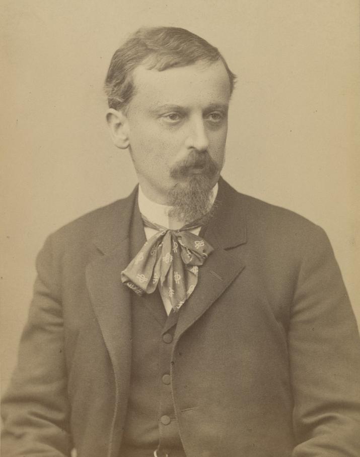 Henryk Sienkiewicz na zdjęciu z lat 80. XIX wieku.