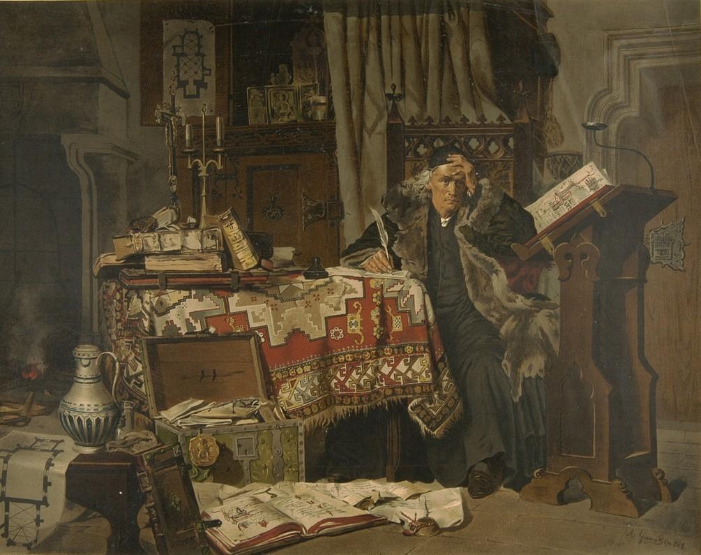 Jan Długosz wspominał o tym, że Jadwiga sponsorowała naukę uczniom szkół średnich (Antoni Gramatyka/domena publiczna).