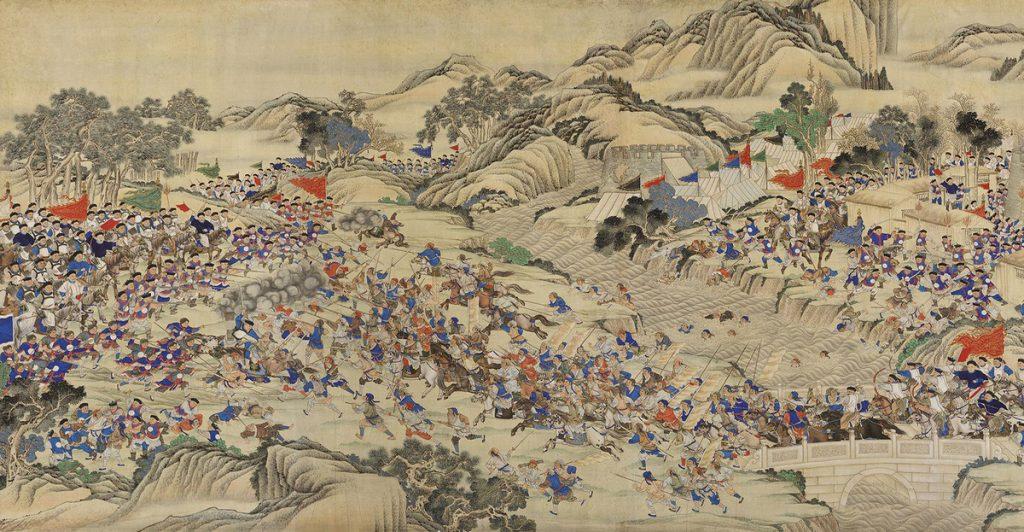 Po początkowych sukcesach wojska rebeliantów zostały zepchnięte do defensywy (Wu Youru/domena publiczna).