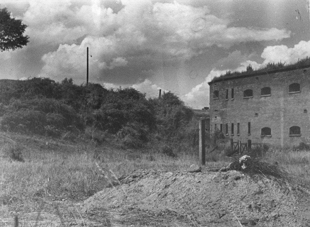 Miejsce egzekucji Demkowskiego na stokach Cytadeli (Leon Jarumski/domena publiczna).