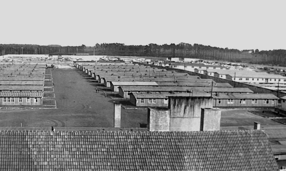 Obóz KL Ravensbrück  na zdjęciu z 1940 roku (domena publiczna).