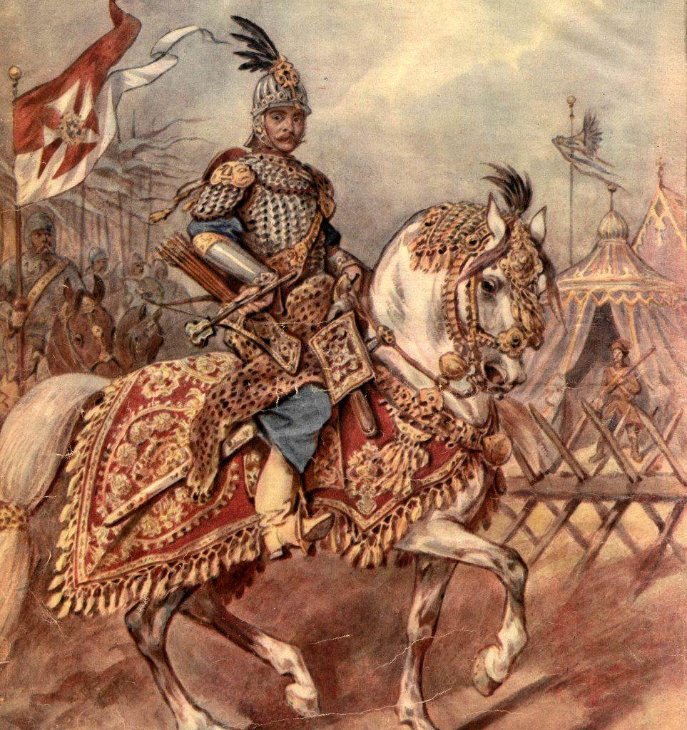 Rotmistrz pancerny w zależności od wielkości pocztu zarabiał od 1640 do 1868 złotych rocznie (Juliusz Kossak/domena publiczna).