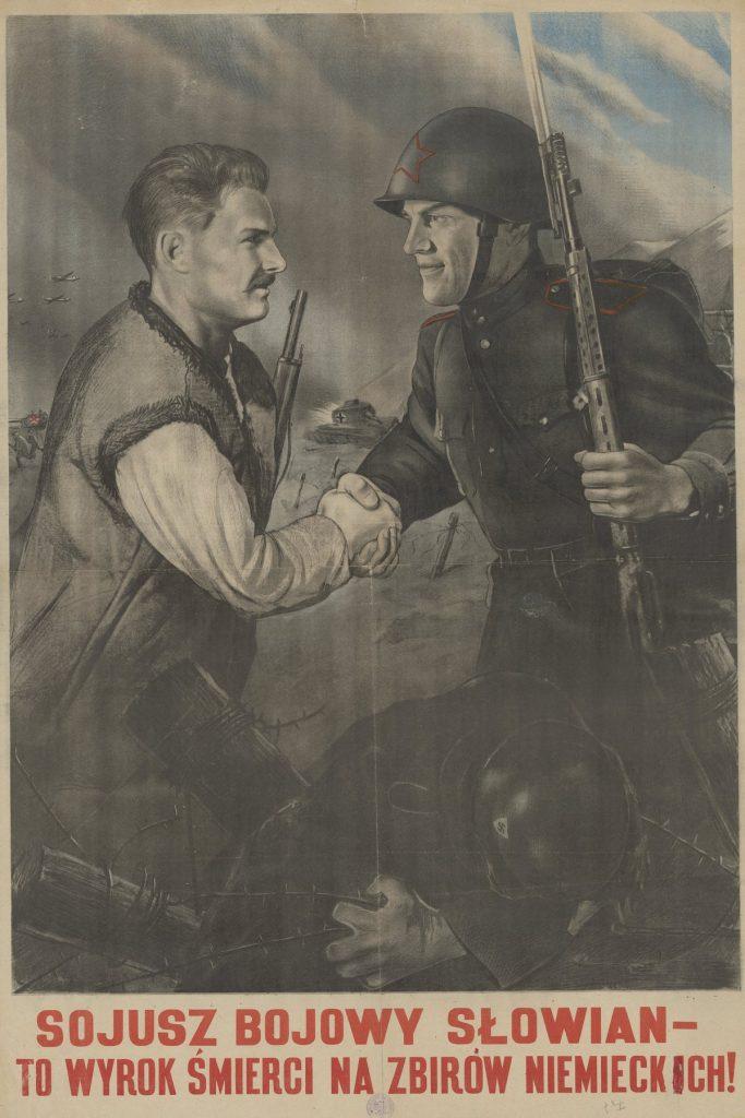 Ritter pod przybranym nazwiskiem w Świdrze doczekał wkroczenia Armii Czerwonej (domena publiczna).