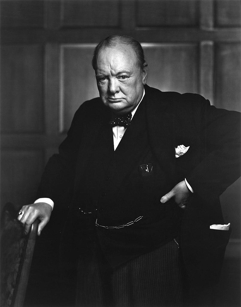 Winston Churchill już jesienią 1939 roku proponował zaminowanie norweskich wód terytorialnych (domena publiczna).