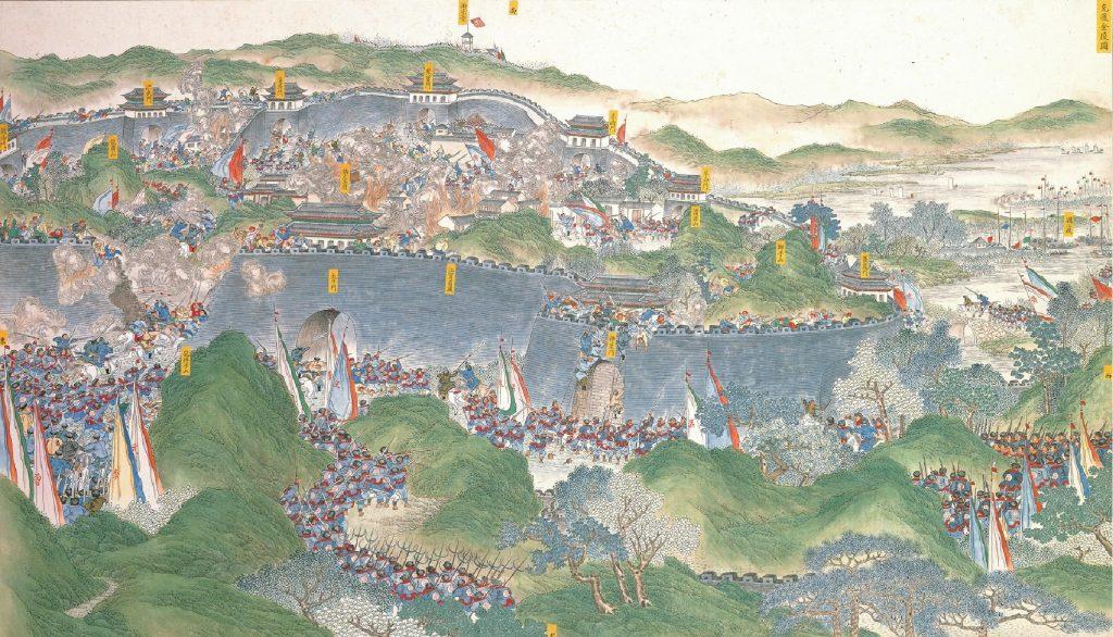 Po zdobyciu 19 lipca 1864 roku Nankinu zwycięzcy utopili miasto we krwi (Wu Youru/domena publiczna).