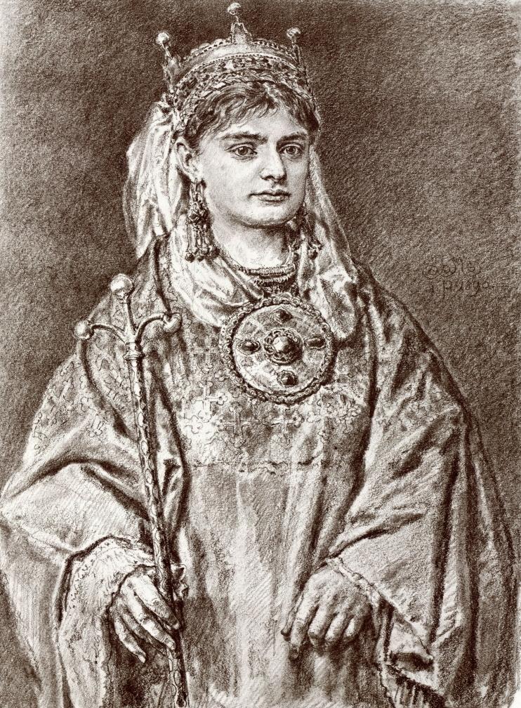 Rycheza nie zamierzała rezygnować własnej korony (Jan Matejko/domena publiczna).