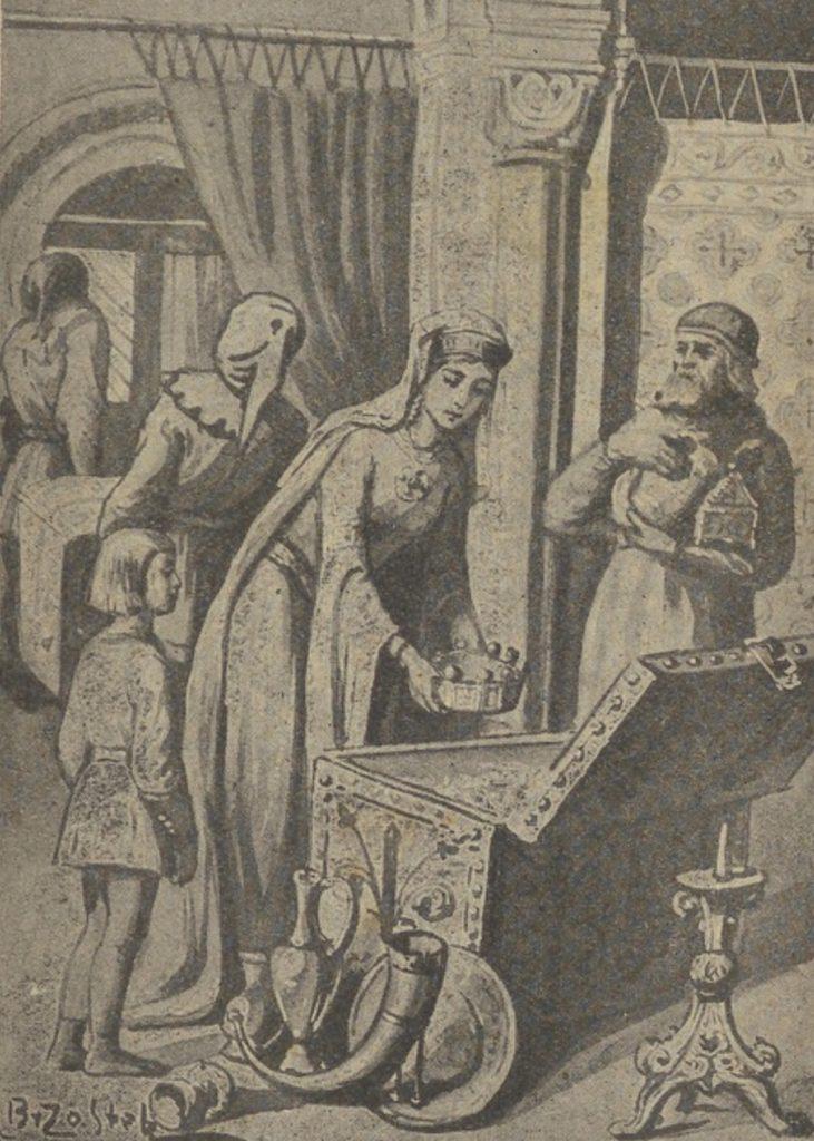 Rycheza zabrała do Niemiec również polska koronę (Aleksander Brzostek/domena publiczna).