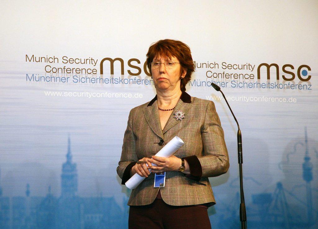 Catherine Ashton na konferencji bezpieczeństwa w Monachium (fot. Harald Dettenborn, lic. CC BY 3.0 de)