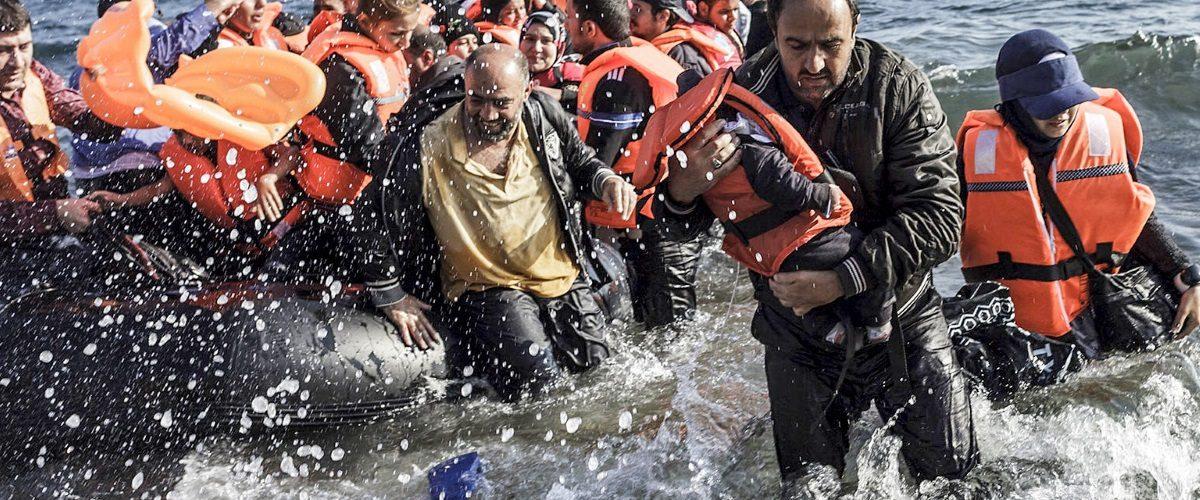 Syryjscy uchodźcy (fot. domena publiczna)